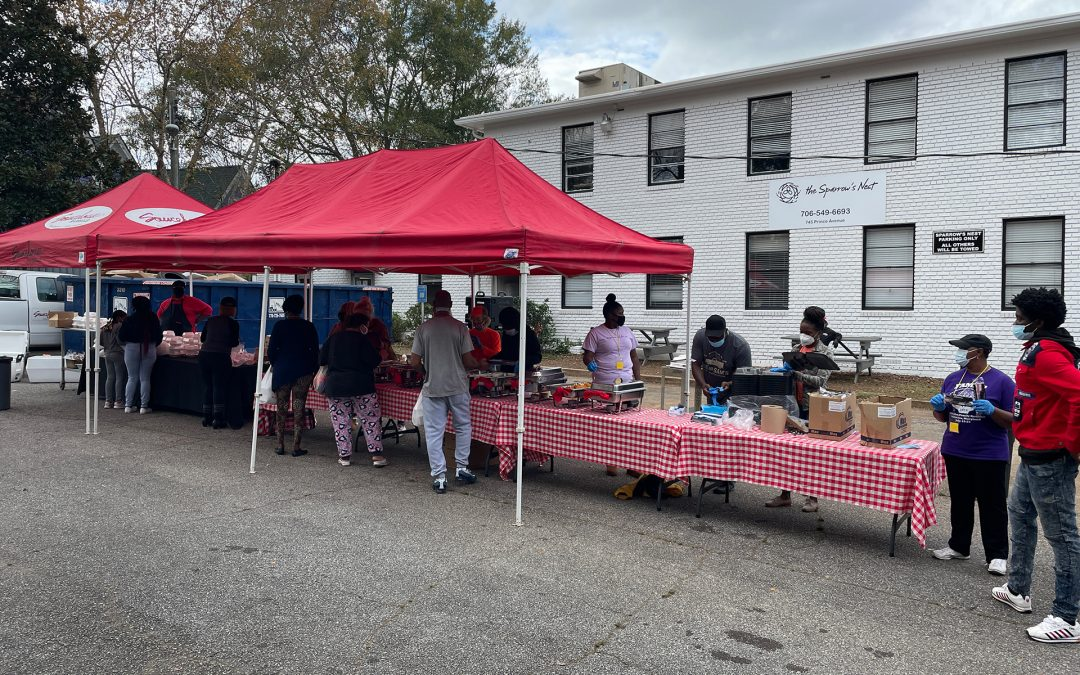 Saucehouse gives back to the community for their 6th annual Thanksgiving Feast